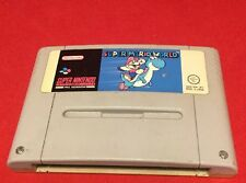 Super Mario World-Cartucho únicamente-Super Nintendo-SNES-PAL-Probado