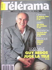 1926 MICHEL PICCOLI GUY BEDOS CARY GRANT JEAN ROUCH GERARD POULET TELERAMA 1986