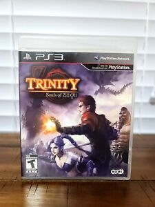 Trinity: Souls of Zill O'll (Sony PlayStation 3, 2011) PS3 CIB EXCELLENT!!!