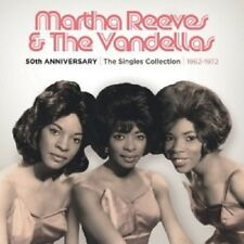 MARTHA REEVES/T.VANDELLAS - 50TH ANN.-T.SINGLES COLLECTION 1962-1972 (3 CD) NEU