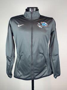 Women's Nike 2017 Big Ten Championship Football Grey Full Zip Jacket Small NWOT