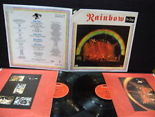 Rainbow ‎– On Stage ' 2 X LP N.MINT SPAIN PRESS