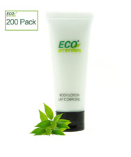 Eco Amenities Transparent Tube Flip Cap Individually Wrapped 30ml Body Lotion, 2
