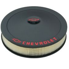 "PROFORM 141-752 Classic Chevy 14""x3"" Air Cleaner Kit in Blk Crinkle Finish"