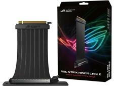 ASUS RS200 ROG Strix Riser Cable with 240 mm PCI-E x16, 90 Degree Adapter, Uniqu