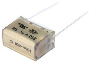 Kemet PMR209 RC NETWORK CAPACITORS 24x11.3x16.5mm 5Pcs 100nF 250VAC/630VDC 470Ω