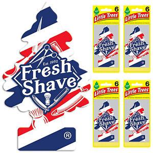 Little Trees Car Air Freshener 24-Pack (Fresh Shave)