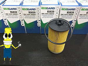 Premium Oil Filter for Chevrolet Sonic w/ 1.4L & 1.8L Engine 2012-2015 Pack of 6