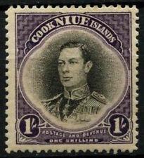 Niue 1938 SG#75, 1s KGVI MH #D30591