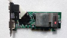 ATI Radeon Sapphire 9600se, 128 MB DDR, AGP 8x, DVI, VGA D-sub, S-Video
