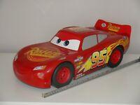 """Disney Pixar Cars 3 HUGE 20"""" (50 cm) LIGHTNING MCQUEEN RUSTE-ZE CAR _ VGC Mattel"""