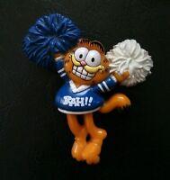 Collector Vintage Pin Garfield The Cat Jim Davis - Cheerleader PIN Enesco Blue