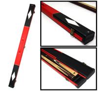 Handmade Billiards Snooker Pool Hard Cue Case For 3/4 Split Cue - Diamond Design