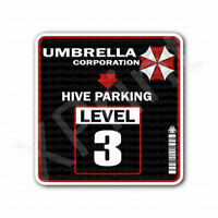 Umbrella Corporation Hive Parking Level 3 Sticker