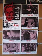 A4866  LA MASCARA DE LA MUERTE ROJA - POE - ROGER CORMAN VINCENT PRICE - COLECCI