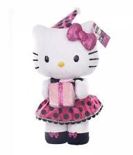 "Jumbo Hello Kitty Birthday Plush Doll NEW Pink Dress Party Hat Door Greeter 24"""