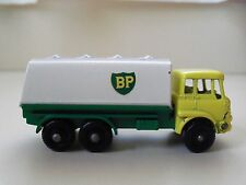 VINTAGE - MATCHBOX / LESNEY - NO. 25 BEDFORD PETROL TANKER BP GASOLINE- DIECAST