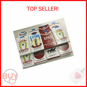 12 PACKS CANDY CIGARETTES