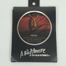 Freddy Kruger Nightmare on Elm Street Glove Necklace Gift Don't Fall Asleep NEW