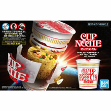 Brand New Bandai Spirits Nissin Cup Noodle Plastic Model Kit Best Hit Chronicle