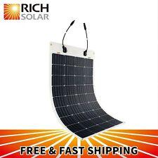 100 Watt 12 Volt Extremely ETFE Flexible Monocrystalline Solar Panel