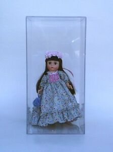 "Doll Display Case  5"" X 5"" X 10"" High Fits Madame Alexander"