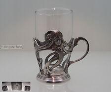 -- WMF -- JUGENDSTIL ~1900 -- GLASHALTER N° 27 -- BRITANNIAMETALL VERSILBERT --