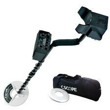 """Metal Detector C.Scope CS1220XD WITH PLATE 8""""+ BAG TRANSPORT + SEARCHCOIL COVERS"""