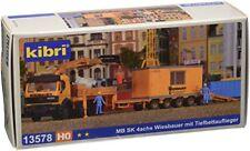 Kibri 13578 MB SK 4 assi Wan mit Rimorchio ribassato Kit di costruzione H0