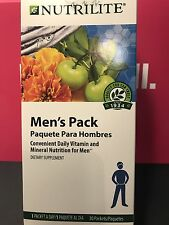 Amway Nutrilite Men's Pack 30 packets #105480 Exp. 12/31/2018