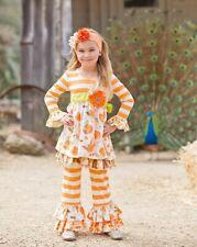 Giggle Moon Girls Spring Summer Dress & Legging Set Size 6X