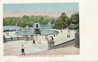NEW YORK CITY – Central Park Bethesda Fountain – udb (pre 1908)
