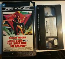 VHS JAMES BOND 007 - LA SPIA CHE MI AMAVA di Lewis Gilbert [WARNER]