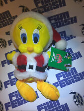 Tweety Bird Santa Bean Bag 8 inch Plush Doll Looney Tunes (1998)