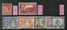 Montserrat 6 Stamps Used and Mint Hinged #1061