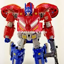 Transformers Rage Over Fall of Cybertron Optimus Prime Transparent Clear Excl.