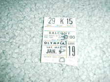 1965 Chicago Blackhawks v Detroit Red Wings NHL Hockey Ticket 1/9 Olympia