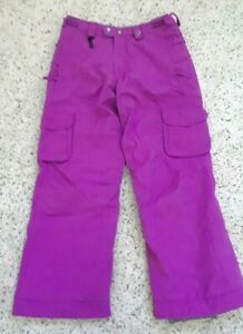 686 Smarty Snowboard Ski Pants Youth Girls L Snowpants  Detachable Fleece Lining