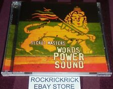 SECRET MASTERS- WORDS POWER SOUND -2 CD SET CD 2 INSTRUMENTAL VERSIONS- MTCD 002