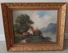 William Henry Chandler (1854-1928) Hudson River pastel original