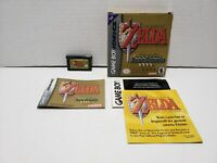 Legend of Zelda A Link to the Past Nintendo Game Boy Advance GBA Complete CIB