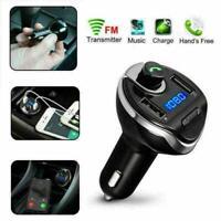 Kabelloser Bluetooth-FM-Transmitter im Auto MP3-Radio-Adapter Auto-USB-Lade N0I3