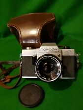 BESELER TOPCON AUTO 100 vintage 35mm film camera and lens
