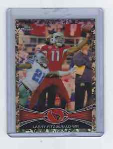 2012 Topps Chrome - [Base] - Military Refractors #141 - Larry Fitzgerald 340/499