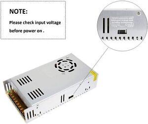 DC 36V 10A LED Netzteil Trafo Schaltnetzteil Adapter Power Supply für LED Strip