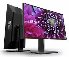 "ASUS PA328Q 32"" 4K UHD IPS LED Professional Monitor 3840x2160 Speaker 2xHDMI USB"