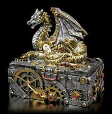 Steampuk DRAGO ASTUCCIO - Secrets of the MACCHINA - GOTICO Cassetta porta