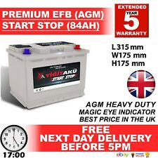 BoschEQ. S5A11 S5 A11 Start Stop AGM Car Battery 12V 80Ah Type 115 5YEARWARRANTY