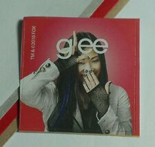 GLEE GLEEK NIYA RIVERA SANTANA LOPEZ RED L SHAPE TV STICKER