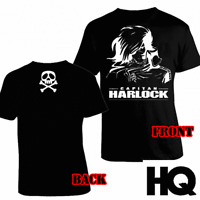 Captain Capitan Harlock Space Pirates T shirt Maglia Arcadia